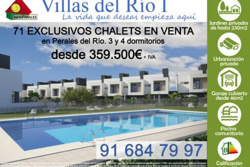 Villas del Río I- Cartel el sabroso CON SUBIDA ultimos chalet