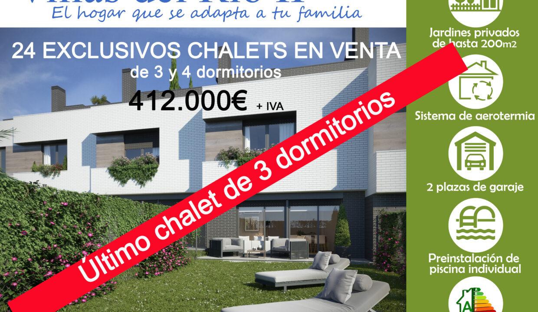 Villas del Río II -ultimo chalet 412000€